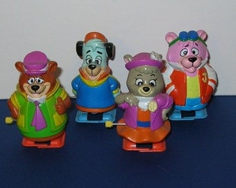 Hanna Barbera Yo Yogi windup figures