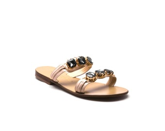 Camogli - Handcrafted Leather Sandal,Slipper and Flip flop