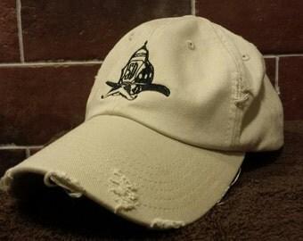 Salty Dog Stone Firefighter Baseball Hat