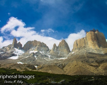 Patagoina Photography, Patagonia Prints, Chile Landscape Photography, Chilean Art, Fine Art Photography; Torres del Paine, Patagonia, Chile