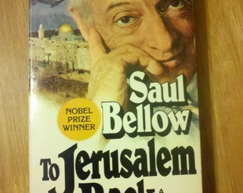 1977 - To Jerusalem and Back by Saul Bellow, Biography First Avon printing