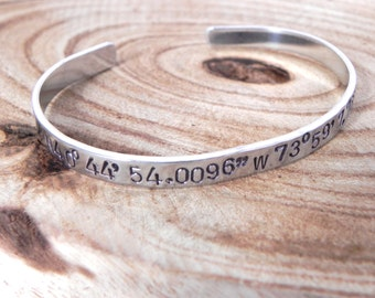 Coordiantion bracelet - custom text - custom bracelet