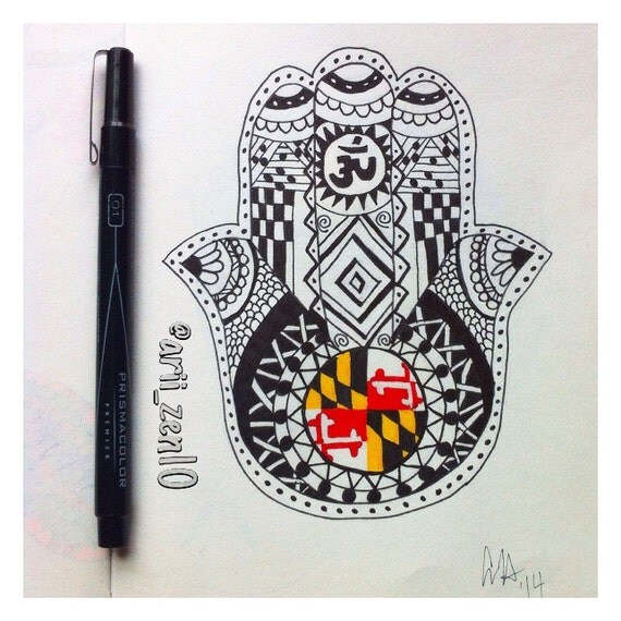 Unavailable listing on etsy for Maryland tattoo ideas
