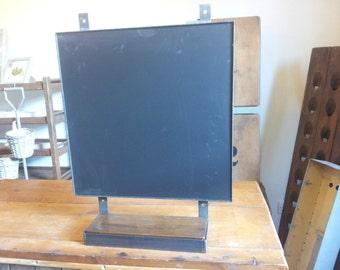 iron black board.industrial chalk board