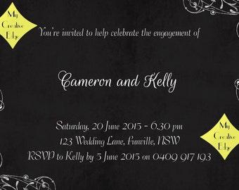 Engagement Party Digital Invitation