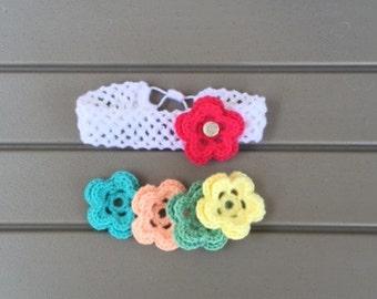 Headband w/ Interchangeable Flowers