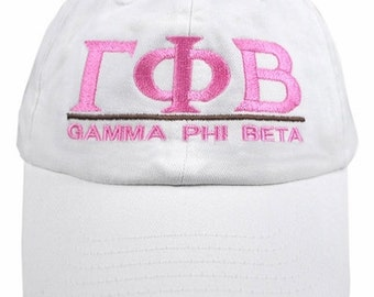 Gamma Phi Beta Line Hat