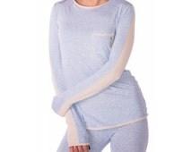Womans Yoga Tank - Long Sleeved Yoga Shirt, Yoga Top, fitness shirt, gym shirt, tee, pajamas, sleepwear