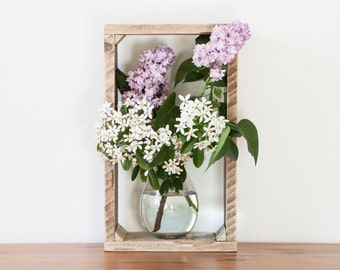 Rustic Shadow Box - Stacking Boxes - Wooden Storage Shelves