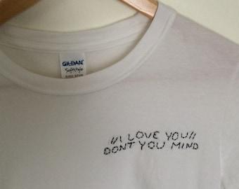 "The 1975 ""Me"" Stitch shirt"