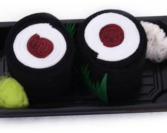 Sushi Socks Box 1 pair Maki Tuna Cool Gift Gadget Present Nice