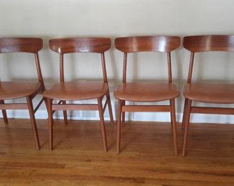 Mid Century Danish Modern Dinning Chairs