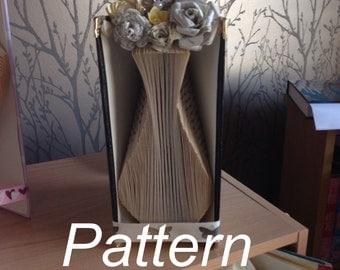 Vase Book Folding Pattern