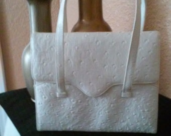 Greta White Day Handbag