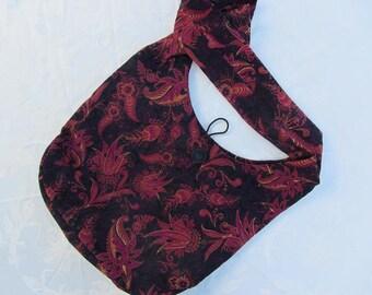 Paisley Shoulder Sling Bag