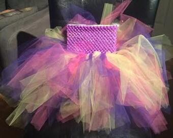 Tutu crochet top dress