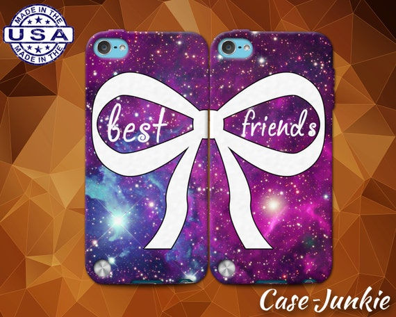 Items Similar To Best Friends Pair Matching Bow Galaxy