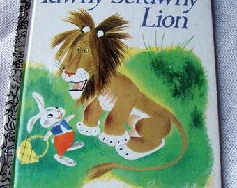TAWNY SCRAWNY Lion Vintage Children Book 1982
