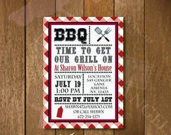 BBQ Invitation…Time To Get Our Grill On