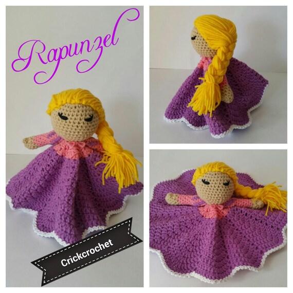 Rapunzel Amigurumi enredados princesas Disney princess