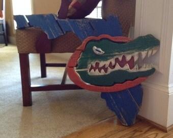 Florida Gators wooden sign