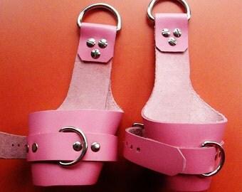 Pink Suspension Cuffs
