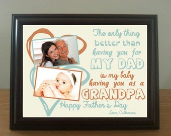 Personalised art print - for Fathers, Grandfathers – made to order