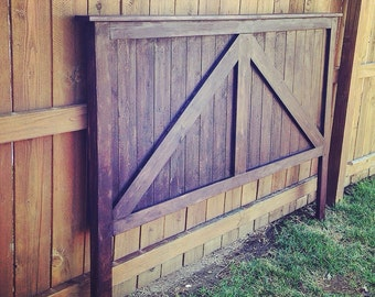 Twin/Full/Queen/King Size Barn Door Headboard. Rustic Headboard.Bedroom furniture. Rustic. Home decor. Vintage. Rustic. Country Home Decor