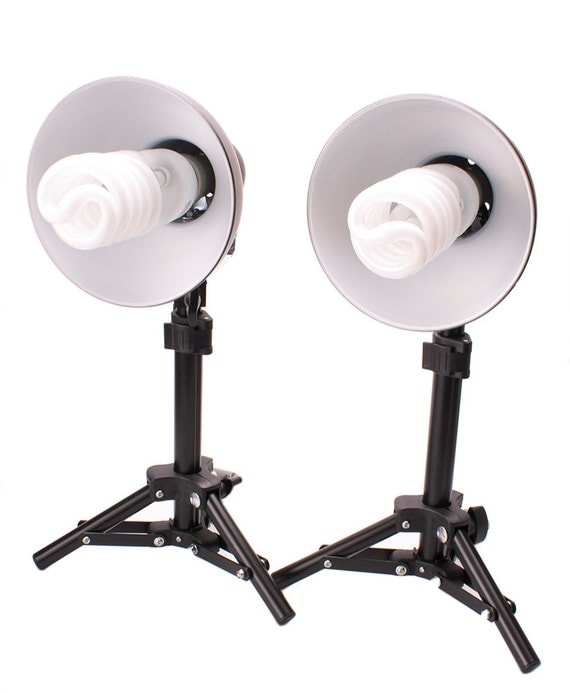 Optex Photo Studio Lighting Kit Review: 300W Photography Table Top Photo Studio Lighting Kit 2 Light