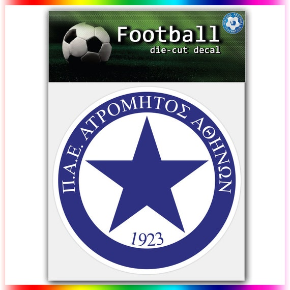 atromitos fc greece uefa football logo decal by stickerforfun. Black Bedroom Furniture Sets. Home Design Ideas