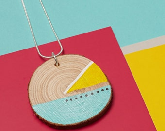 DENDRØN // Bespoke geometric wooden jewellery // BE∆M