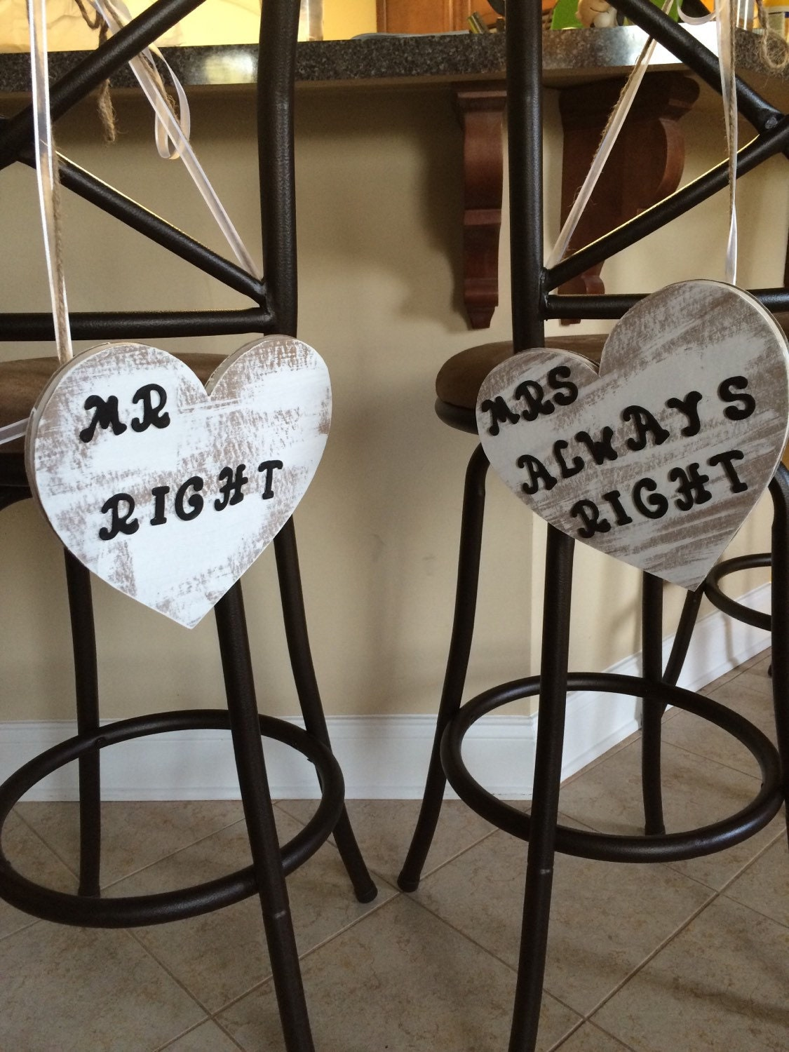 Mrs Always Right Collection Review: Mr. Right & Mrs. Always Right Distressed Heart By