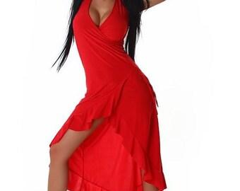 Sexy, handmade summerdress, salsa dress
