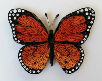 Paper Quilled Butterfly - 8x10