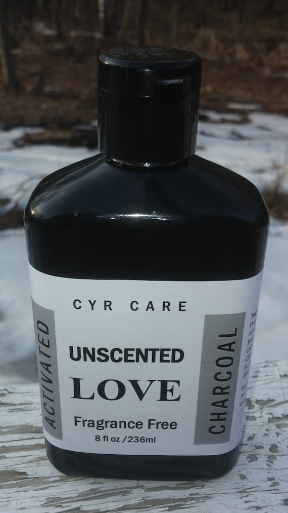 unscented activated charcoal soap african black soap