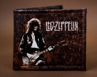 Led Zeppelin - Wallet leather - Jimmy Page