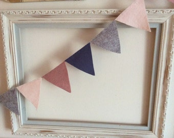 Felt Bunting in a Choice of Colours and Sizes