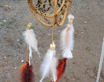 3D Three ring dream catcher. Customizable. FREE SHIPPING
