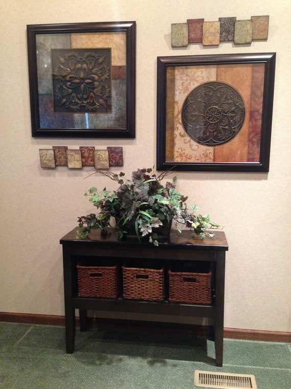 Entryway table with storage - Entrance table with storage ...