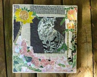 Barn Cat in The Window - SOLD