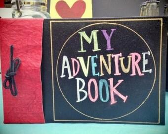 My Adventure Book Scrapbook/Photo Album - Inspired by Disney's UP