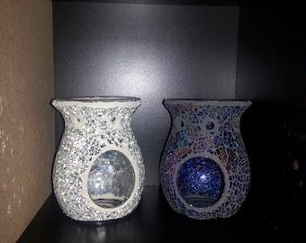 Mosaic oil burners