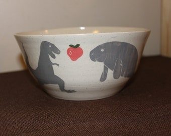 custom serving bowl