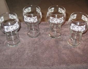 Vintage Retro 11 oz.  PEPSI COLA Glasses