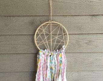 Fabric Strip Dreamcatcher