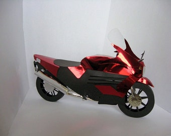 3D Motorbike Template