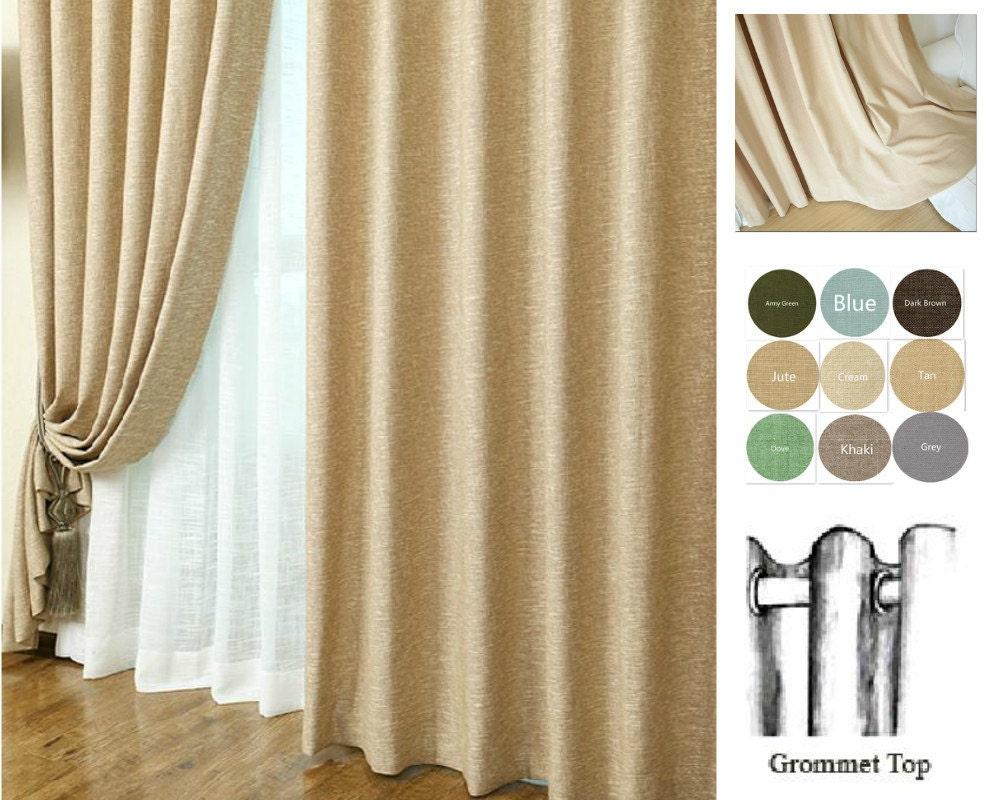 Linen curtains custom curtains window curtain panels custom for Custom made window curtains