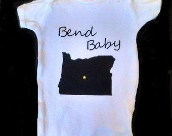 Bend Baby bodysuit
