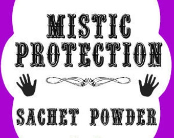 Mistic Protection Southern Folk Magic Sachet Powder