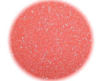 Coral Sanding Sugar - 1 LB